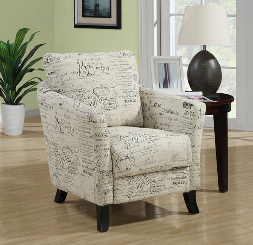 Candace & Basil Accent Chair - Vintage French Fabric