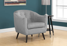 Load image into Gallery viewer, Accent Chair - Grey Mosaic Velvet