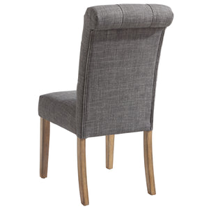Side Chair - Grey (Set Of 2)