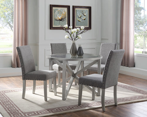 Bella Dining Table - Silver