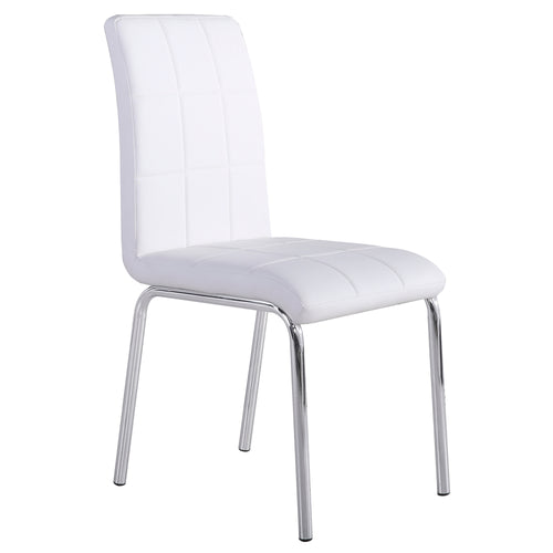 Candace & Basil Furniture |  Side Chair - White (Set Of 4)