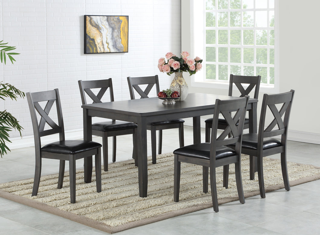 Gabrielle 7PC Dining Set | Candace and Basil Furniture