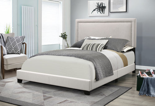 Tatum Queen Bed - Grey