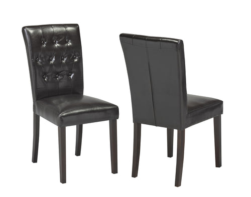 Espresso Tufted Dining Chair (Set of 2) | Candace and Basil Furniture