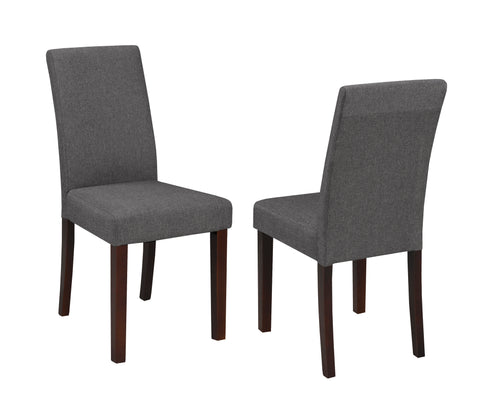 Jackie Dining Chair (Set of 2) - Grey | Candace and Basil Furniture