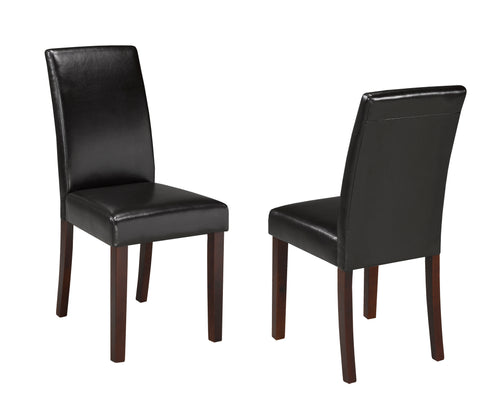 Jackie Dining Chair (Set of 2) - Brown | Candace and Basil Furniture