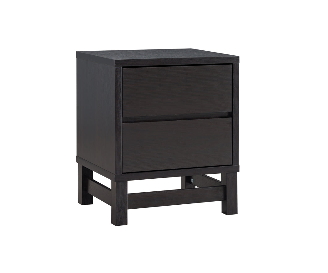 Compact Night Stand - Dark Cherry | Candace and Basil Furniture