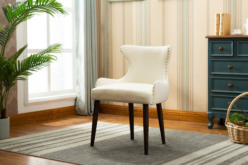Marbella Dining Chair (Set of 2) - Cream Velvet