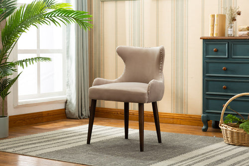 Marbella Dining Chair (Set of 2) - Grey Velvet