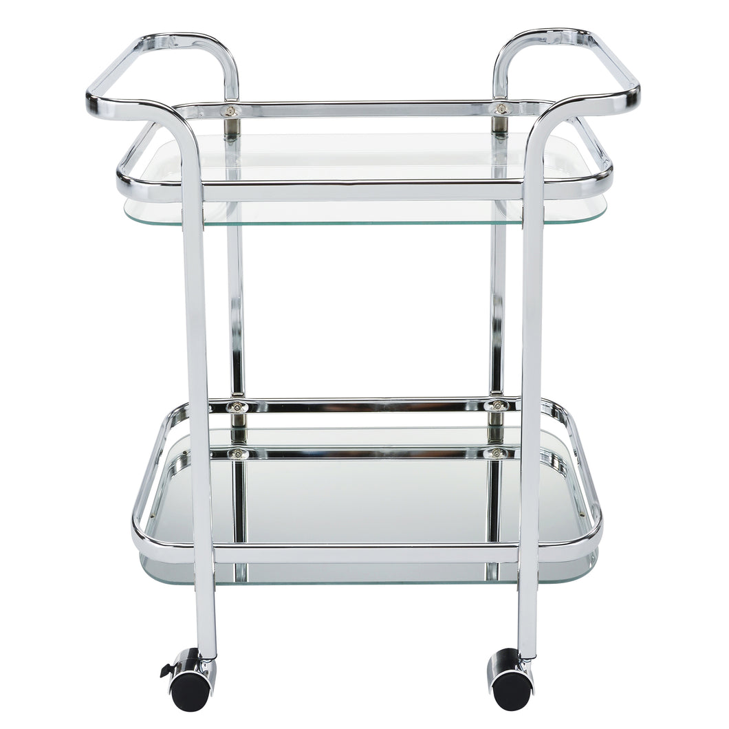 2 - Tier Trolley - Chrome
