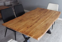 "Load image into Gallery viewer, Zen 67"" Live Edge Dining Table - Acacia"