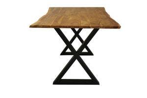 "Zen 67"" Live Edge Dining Table - Acacia"