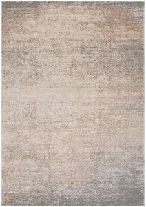 "Modern 7' 10"" x 10' 2"" Area Rug, Neutral"