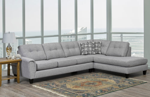 Jaden Sectional - Grey 🇨🇦