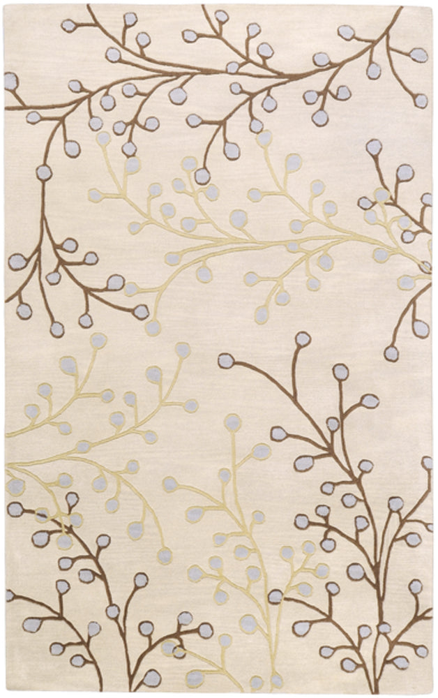 Transitional 8' x 11' Area Rug, Neutral