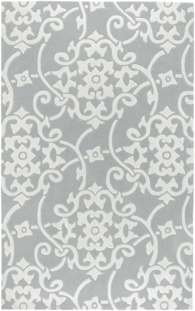 Transitional 8' x 11' Area Rug, Grey