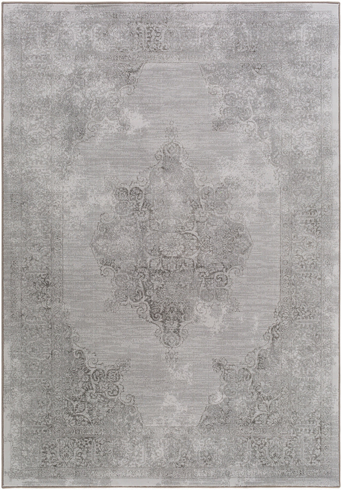 Medallion and Damask 5' 3