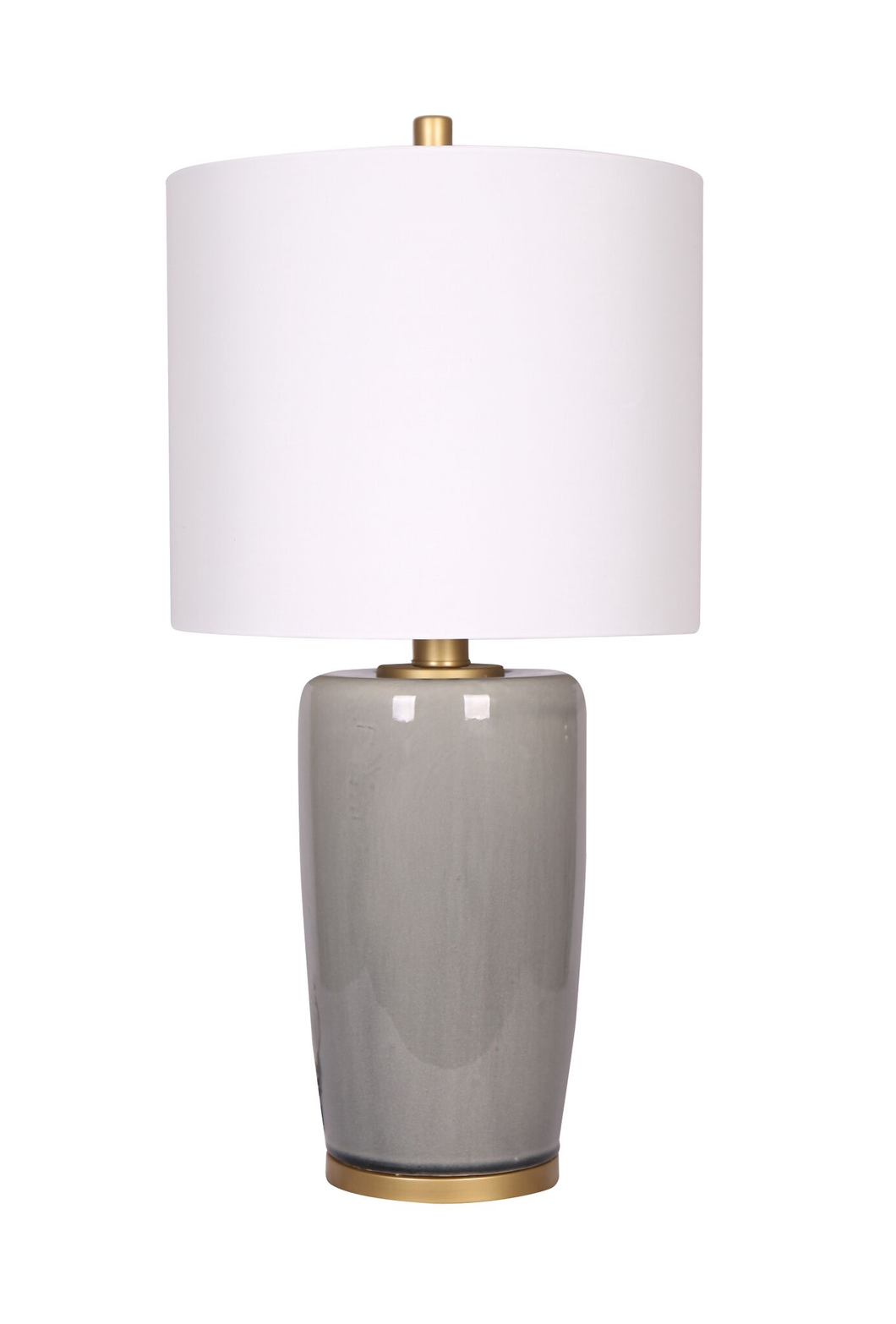 26.75'' Table Lamp Grey/Gold