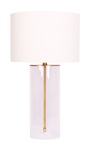 22'' Table Lamp Brushed Gold