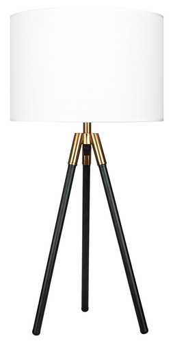 23.5'' Table Lamp Industrial Gold