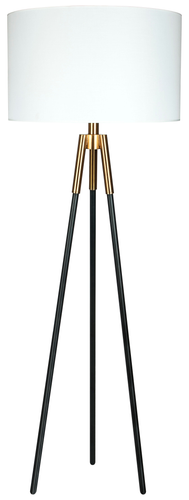 62.5'' Floor Lamp Industrial Gold