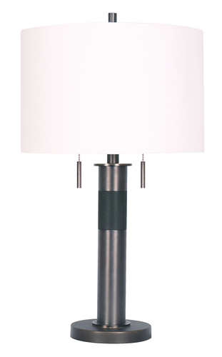 26.5'' Table lamp Patina Bronze