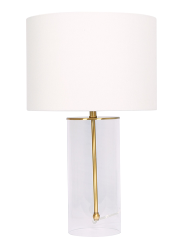 29'' Table Lamp Brushed Gold