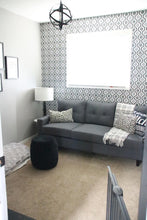 Load image into Gallery viewer, Anton Tufted Sofa - Grey
