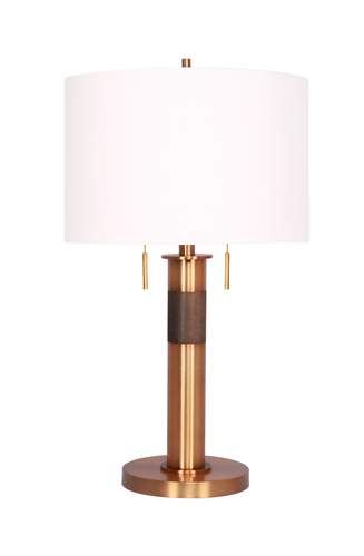 26.5'' Table lamp Burnished Brass