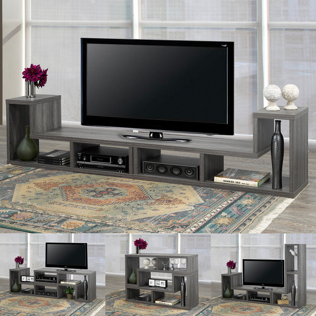 Multiple Config. TV/Display Stand - Dark Grey | Candace and Basil Furniture