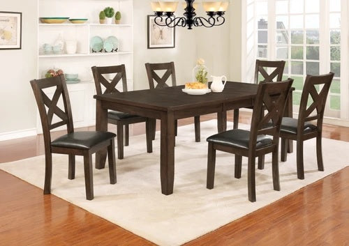 Dominic 7 PC Dining Set W/ 18