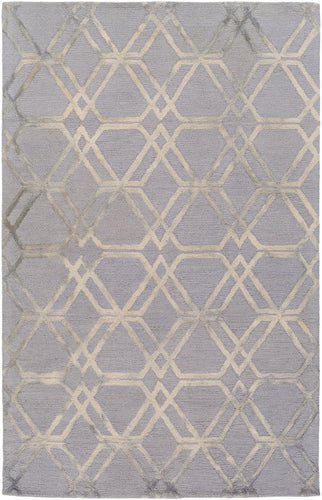 Geometric 8' x 10' Area Rug, Grey