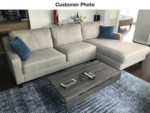 Load image into Gallery viewer, Uptown RHF Sectional  - Grey