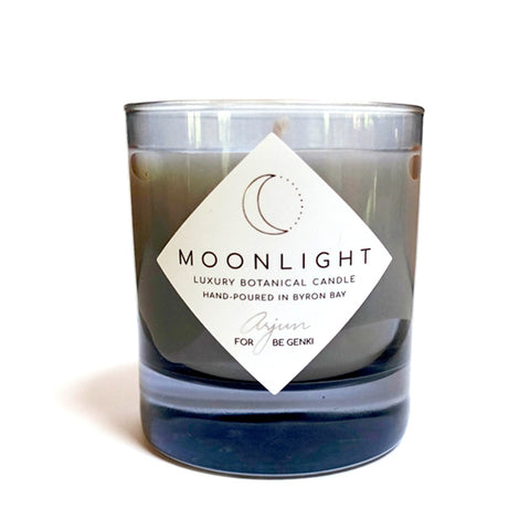 MOONLIGHT <br> Luxury Botanical Candle. Hand-poured in Byron Bay