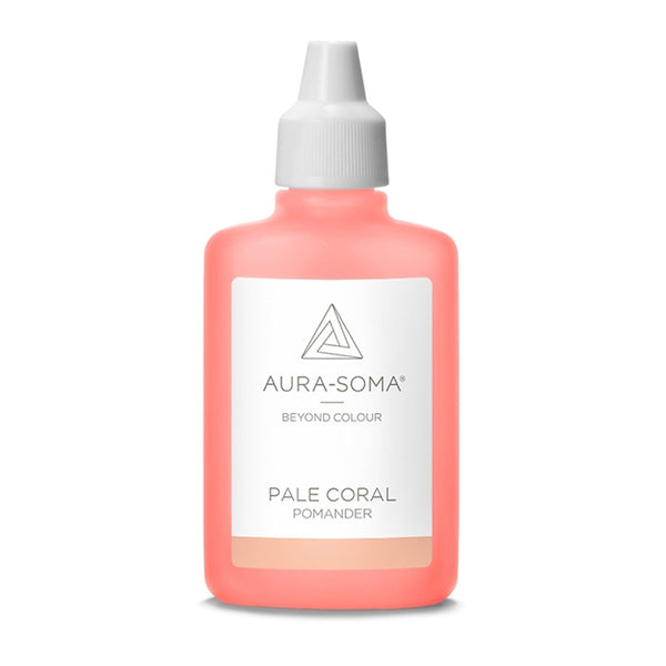 POMANDER PALE CORAL <br> Strong emphasis on relationship, supports the collective working together towards a common goal, 25ml