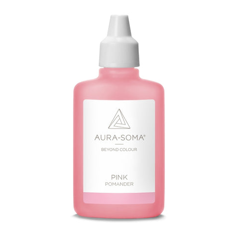 POMANDER PINK <br> Love and self-acceptance which brings warmth and caring for self and others, 25ml
