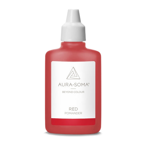 POMANDER RED <br> Energy and enthusiasm, grounding of purpose and re-vitalising, 25ml