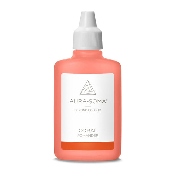 POMANDER CORAL <br> Love wisdom, to love and care in a new way, 25ml