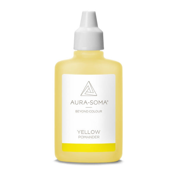 POMANDER YELLOW <br> Fun, laughter & self-knowledge, 25ml