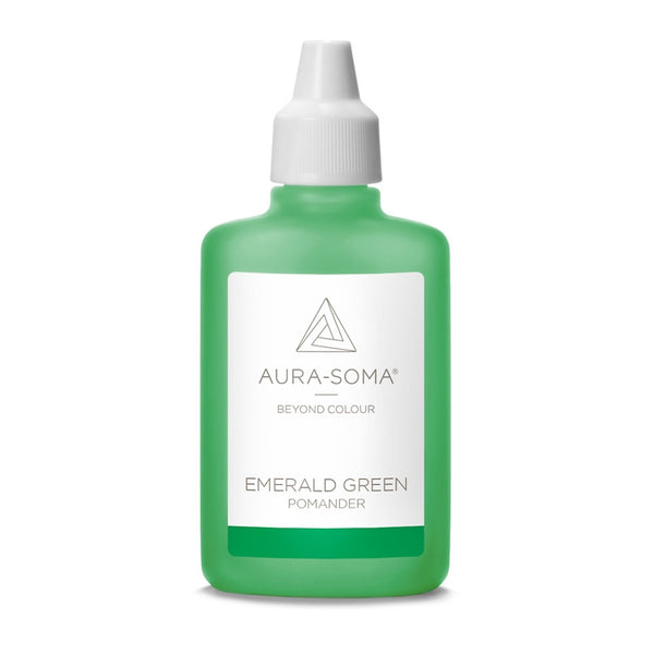 POMANDER EMERALD GREEN <br> Finding one's own space, going to the heart of things, 25ml