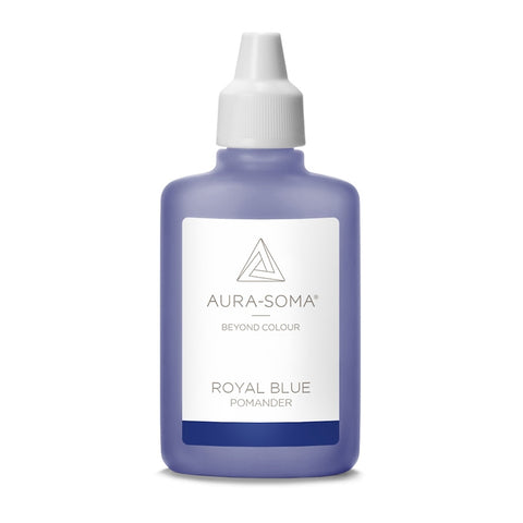POMANDER ROYAL BLUE <br> Infinite possibilities and inner seeing, 25ml