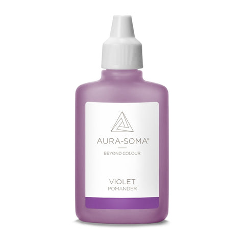 POMANDER VIOLET <br> Calm and balancing, bringing 'the sweetness of Spirit', 25ml