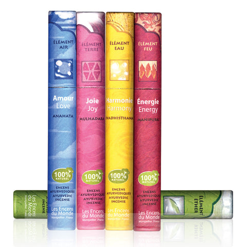 Ayurvedic Indian Incense Range <br> ( 8 varieties )