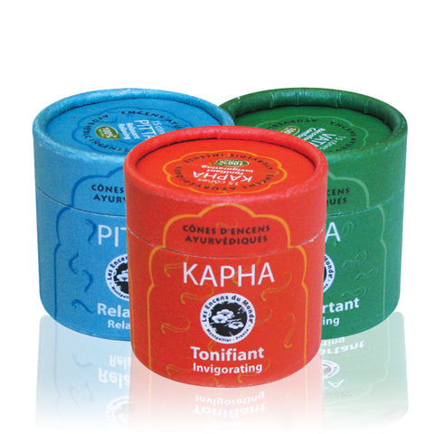Ayurvedic Incense Cones <br> ( 3 varieties )