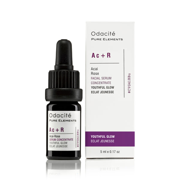Ac+R | YOUTHFUL GLOW <br> Acai Rose Serum Concentrate <br> Age Defying series, 5ml