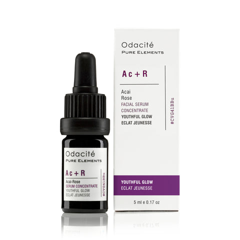 Ac+R : YOUTHFUL GLOW <br> Acai Rose Serum Concentrate, 5ml