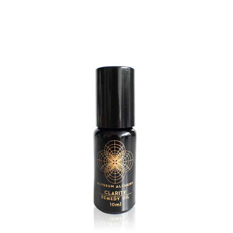 CLARITY REMEDY OIL <br> Infused with Australian Clear Quartz, 10ml Roll-on