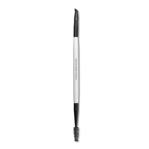 ANGLED BROW - SPOOLIE BRUSH <br> Dual ended with Spoolie and angled, firm-bristled brush