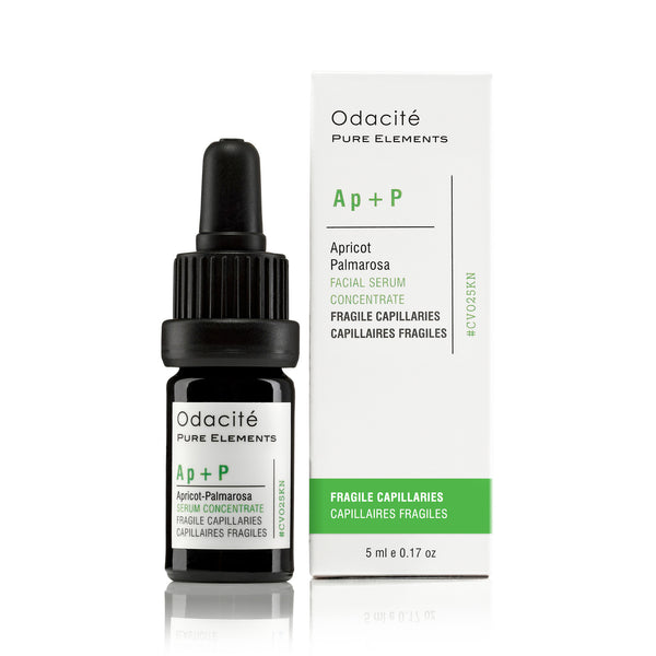 Ap+P ~ FRAGILE CAPILLARIES <br> Apricot Palmarosa Serum Concentrate, 5ml