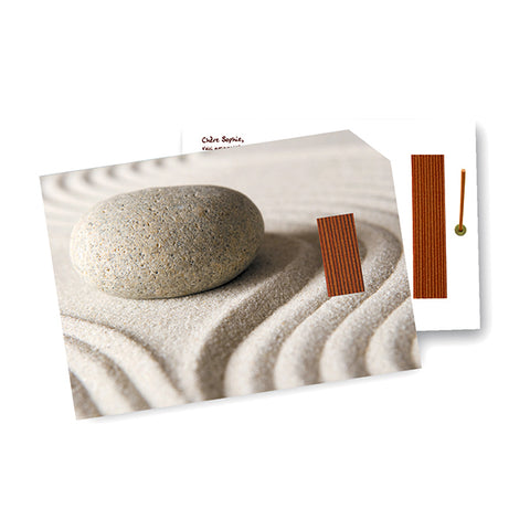 INCENSE GREETING CARDS <br> 100% Natural Incense housed in a blank greeting card, with envelope  ( 22 varieties )